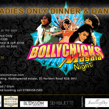Bollychicks Ladies Only Dinner & Dance